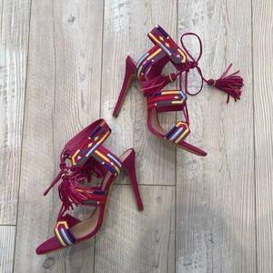 Schutz Eurika Sandal Size 10 Pink NWT